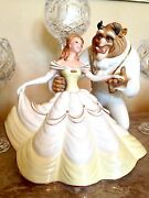 1991 Lenox Love's Timeless Tale Beauty And Beast 10th Anniversary Disney Sculpture
