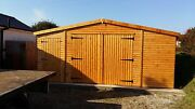 Timber Garage 22mm Loglap 3x2 Framing Free Delivery And Fitting