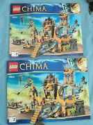 Lego Legends Of Chima The Lion Chi Temple Instruction Manual Book 2 And 3 Only.