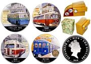 Niue 2010 Soviet Transport Proof Set 4 X 1oz Silver Coins +free Gift