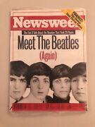 Beatles As A Front Cover On Newsweek Magazine October 1995 Factory Sealed