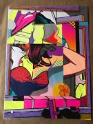 Pose Jordan Nickel Sill 18 Signed And Numbered 22 Layer Screen-print Popnk
