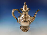 Les Cinq Fleurs By Reed And Barton Sterling Silver Coffee Pot 120 C 1295