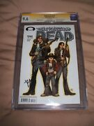 The Walking Dead 3 1st Print Cgc 9.6 Signed Kirkman And Moore 10 1st Appearance