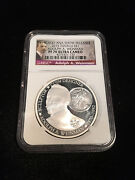 2015 Tuvalu 1 Adolph A Weinman Ngc Pf 70 Ultra Cameo Chicago Ana Show Release