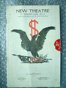 New Theatre Programme- Olive Blakeneyd Blakelock In Spread Eagle By G S Brooks