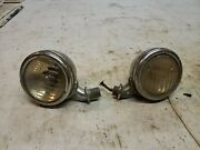 Original 1933 1934 Ford Cowl Lights Lamps   1