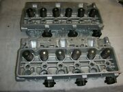 Corvair 140 Big Valve Heads 3878570 Machined 3 Barrel Weber Carbs And Manifolds