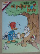 Walter Lantz Signedthe Crazy Bird Spanish Comic Books 32 Pages 1982 And 1983