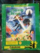 Dungeons And Dragons Cartoon Animated Series French Sticker Album Very Rare