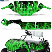 New Yamaha Golf Cart Graphic Kit Decal Sticker Parts 2 Seater Wrap 95-06 G-flame