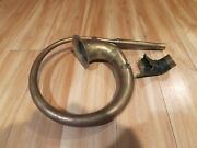 Vintage Brass Auto Car Horn Squeeze Bulb Side Mount Steampunk Taxi Harpo Clown