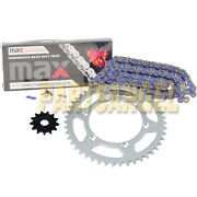 Blue Drive Chain And Sprocket Kit For 2001-2004 Yamaha Yz250f / 2005-2018 Yz125