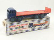 Rare Vintage Dinky Supertoys 903 Foden Flat Truck With Tailboard Meccano Boxed