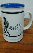 Elvis Presley The King Of Rock N Roll Collectible Ceramic Mug Or Stein