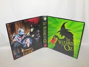 Custom Made The Wizard Of Oz Trading Card Album Binder Graphics Only