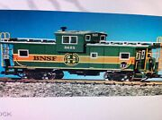 Usa Trains G Scale 12111 Extended Vision Caboose B N S F Green/orange