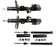 New For Toyota Sienna 2004-2006 Front Struts And Rear Shock Absorbers Monroe Kit