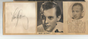 Tommy Dorsey 1940and039s Vintage Scrapbook Findclippings And Original Autograph