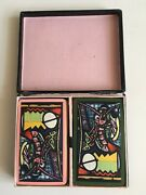Vintage Waddingtons Lobster Twin Pack Playing Cards Designed By Picasso Complete