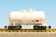 Usa Trains G Scale Beer Can Tank Car R15201 Undecorated - White