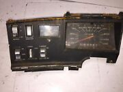 1971 Plymouth Fury Dash Cluster With Time Clock Wiper And Light Controls