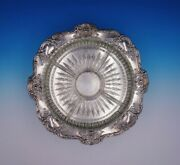Old Master By Towle Silverplate Relish Tray With Glass Liner 4023 3274