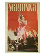 Madonna Poster Material Girl Old