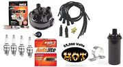 Electronic Ignition Kit And Hot Coil Ferguson To20, To30, To35 Tractor Delco-clip