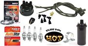 Electronic Ignition Kit And Hot Coil Ford 8n Tractor Side Mount Distributor