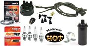 Electronic Ignition Kit And Hot Coil Ford 600 601 640 641 650 651 + Tractor