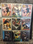 Large Football Rookie Rc Lot Plus Favre Manning Brady Brees 315 Plus Cards