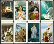 Victorian Romantic Tarot Deck Signed 2012 Edition Bn + Free 2018 Signed Book Bn
