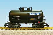 Usa Trains G Scale Beer Can Tank Car R15214 Canadian General Transport - Black