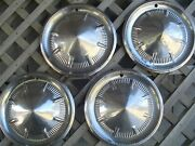 1960 60 Ford Fomoco Galaxie Vintage Hubcaps Wheel Covers Center Caps Antique