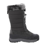 Baffin Iceland Insulated Grey Winter Snow Boots Womens Size 7
