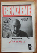 Allan Arts Magazine Beally / Benzene 5 / 6 Special Double Issue Rituals 1st