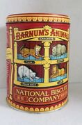 Barnumand039s Animals Crackers National Biscuits Co. Animal Tin Collectors Tin 2002