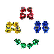 Wheel Hub Front And 1-1/4 Rear 5/16 Bolts With 5/8 Bearings For Go Kart Cart