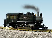 Usa Trains G Scale R20059 Dockside 0-6-0t Steam Locomotive Boston And Maine 9