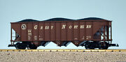 Usa Trains G Scale 14017 70 Ton 3 Bay Coal Hopper Great Northern
