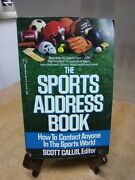The Sports Address Book How To Contact Anyone In The Sports World By Fc35-2-b