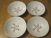 Homer Laughlin And039big Pay-offand039 8andfrac14 Soup Bowls By Bess Myerson Set Of 4 Euc