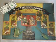 Vintage 1931 Wolverine Toy The Little Gardener Antique Playset. Nos Never Used