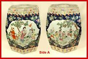 Chinese Export Porcelain Garden Seats Andndash Exceptional Quality