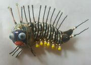 Vintage Cynthia Chuang Jewelry 10 - Cute Caterpillar - Enameled Porcelain.