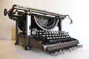 Antique Remington Typewriter - Polished Steel - One Of A Kind