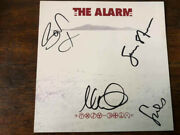 The Alarm Equals Cd With Signed Card Autographed By Mike Peters + 3 Others