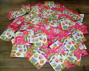Shopkins Fashion Tags And Sticker Lot Of 155 Great Party Favors Or Collect