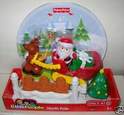 5450 Nrfb Fisher Price Target 3 Little People Christmas Playsets